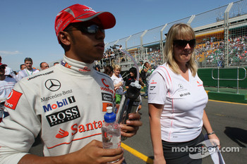 Lewis Hamilton, McLaren Mercedes at