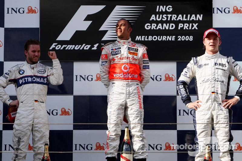 2008赛季澳大利亚大奖赛:首登领奖台