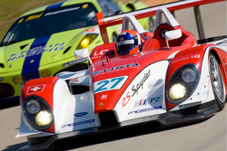 #27 Horag Racing Porsche RS Spyder: Fredy Lienhard, Didier Theys, Jan Lammers