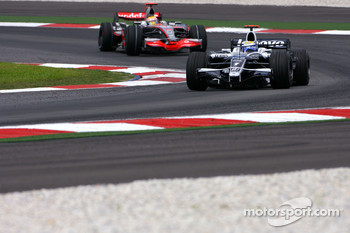 Nico Rosberg, Williams F1 Team, Lewis Hamilton, McLaren Mercedes
