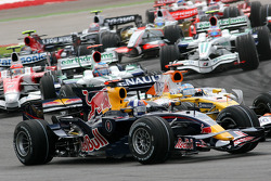 Start: David Coulthard, Red Bull Racing, RB4