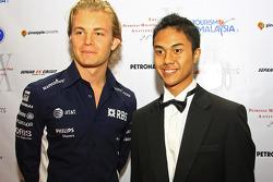 Gala Dinner: Nico Rosberg , Jazeman Jaafar