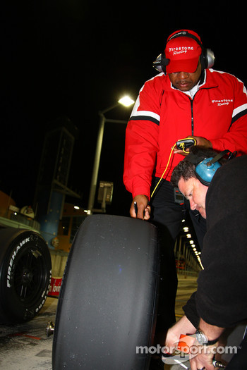 Bridgestone technicians at work