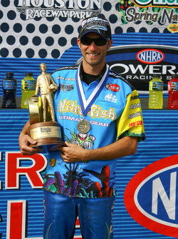 Pro Stock Bike winner Matt Smith