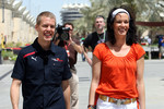Sebastian Vettel and Tanja Bauer