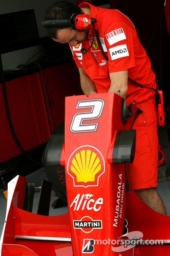 Scuderia Ferrari mechanic