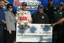 Check presentation to Dale Earnhardt Jr.