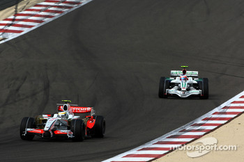 Giancarlo Fisichella, Force India F1 Team, Rubens Barrichello, Honda Racing F1 Team