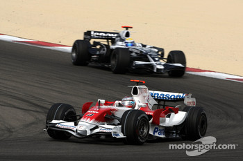 Jarno Trulli, Toyota Racing, Nico Rosberg, WilliamsF1 Team