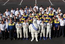 Team Peugeot Total photoshoot