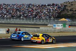 Rickard Rydell, Seat Sport, Seat Leon TDI and Alain Menu, Chevrolet, Chevrolet Lacetti