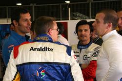 Soheil Ayari, Stéphane Ortelli and Olivier Panis