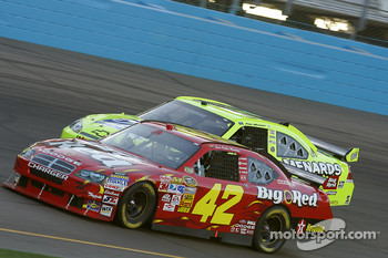 Juan Pablo Montoya and Paul Menard