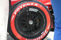 Champ Car tire detail