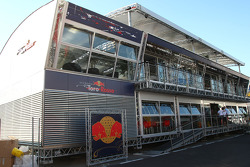 Red Bull Racing and Scuderia Toro Rosso motorhome