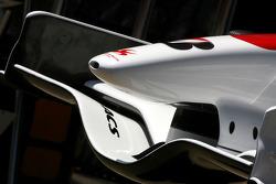 Super Aguri front wing detail