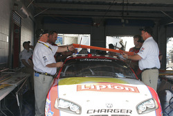 Lipton Dodge at tech inspection