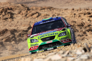 Khalid Al-Qassimi and Michael Orr, Ford Focus RS WRC
