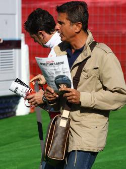 Enrico Zanarini, Manager of Giancarlo Fisichella