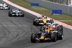 Mark Webber, Red Bull Racing, Jarno Trulli, Toyota Racing