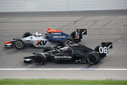 Oriol Servia and Graham Rahal