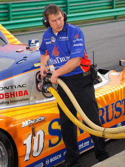 Fuel for the SunTrust Racing Pontiac Dallara