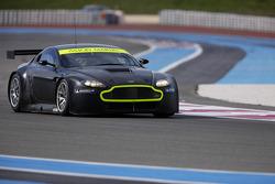 Aston Martin Vantage GT2 on track