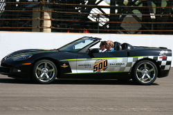 Indianapolis 500 Corvette pace car