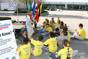 Speedway history is taught on field trip to Indianapolis Motor Speedway to grade schools
