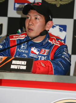 Hideki Mutoh in a press conference following rookie orientation