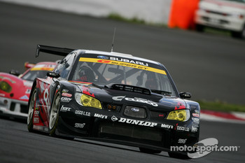 #77 Cusco Dunlop Subaru Impreza: Tetsuya Yamano, Kota Sasaki