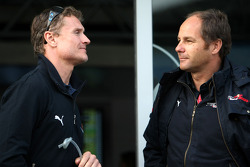 Gerhard Berger, Scuderia Toro Rosso, 50% Team Co Owner, David Coulthard, Red Bull Racing