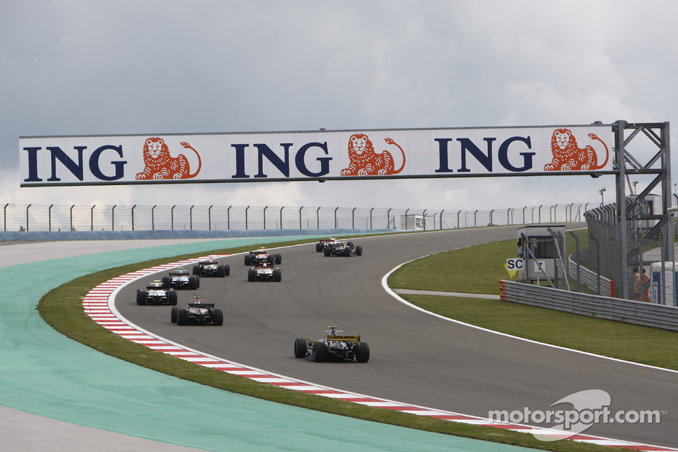 GP2 Series race action