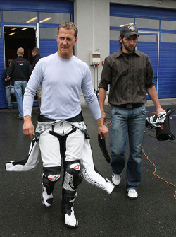 Michael Schumacher (ex. F1 driver/ Ferrari/world champion)