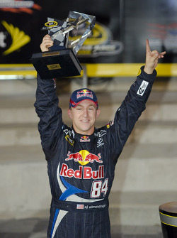A.J. Allmendinger wins the Sprint Open race