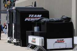 Penske packed up early