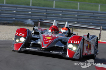 #1 Audi Sport North America Audi R10 TDI: Emanuele Pirro, Frank Biela