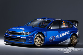 The new Subaru World Rally Team Subary Impreza WRC2008