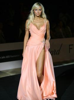 Amber Fashion which benefits the  Elton John Aids Foundation