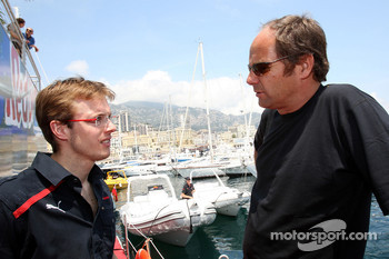 Sébastien Bourdais, Scuderia Toro Rosso and Gerhard Berger, Scuderia Toro Rosso, 50% Team Co Owner