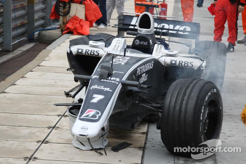 Nico Rosberg: Grand Prix von Monaco 2008 in Monte Carlo