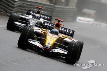 Fernando Alonso, Renault F1 Team, Nico Rosberg, WilliamsF1 Team