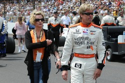Davey Hamilton and his wife