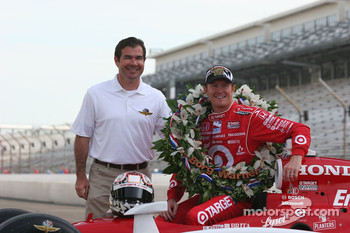 Joie Chitwood and Scott Dixon