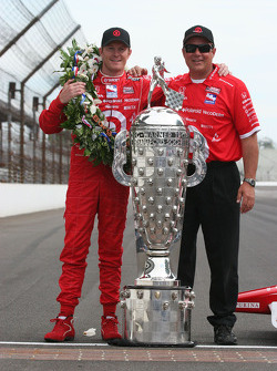 Scott Dixon and crew chief Mike Hull