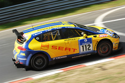 #112 SEAT Deutschland GmbH Seat Leon Supercopa: Thomas Marschall;Sebastian Stahl;Florian Gruber;Harald Jacksties