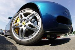 Ferrari Scaglietti detail