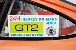 Porsche 911 GT2 LM 1998 detail