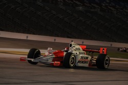 Ryan Briscoe leaving the pits
