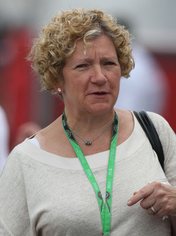 Carmen Lockhart, Mother of Lewis Hamilton, McLaren Mercedes